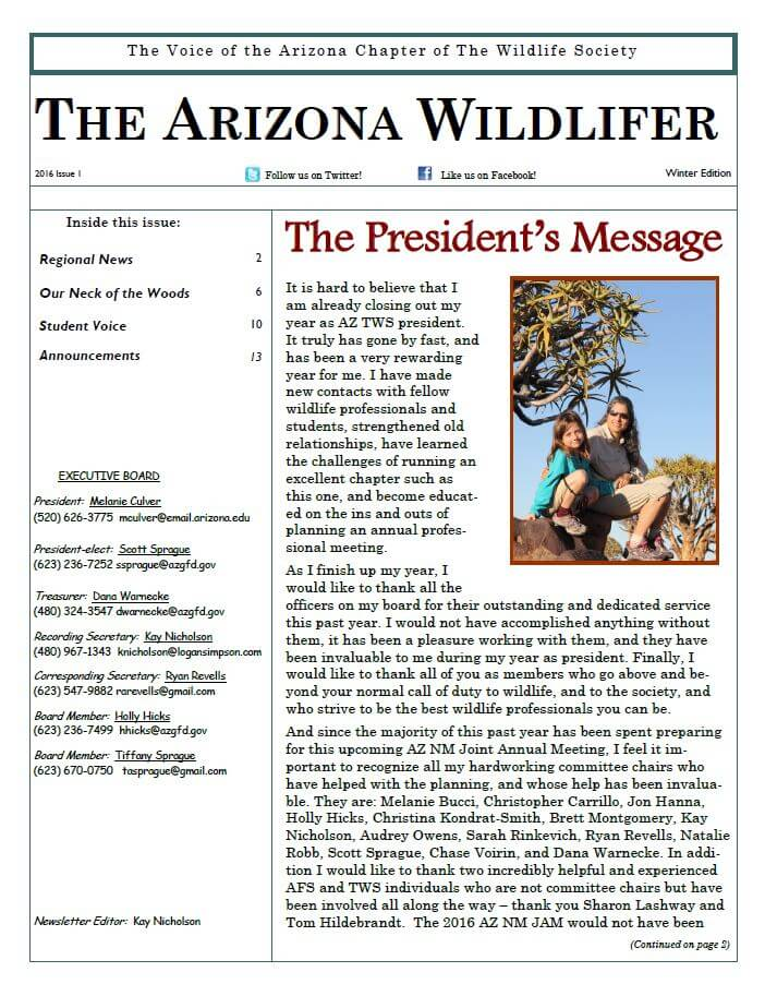 AZTWS_Winter2016_Newsletter